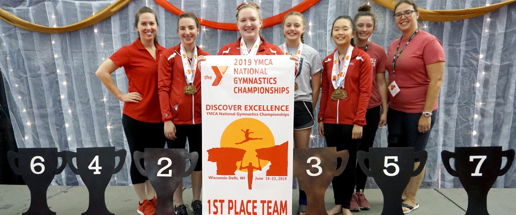 Gymnastics Team Brings Home National Championship Title